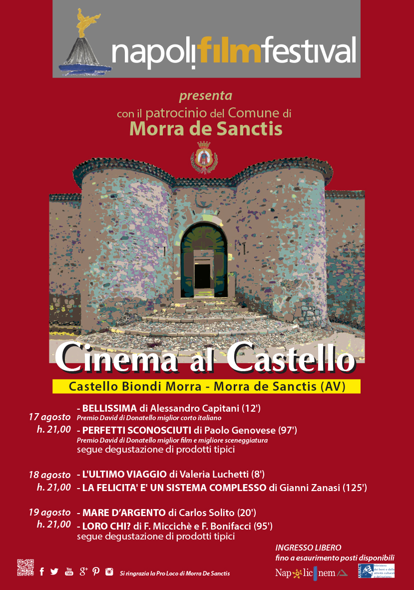 Cinema al Castello 2016
